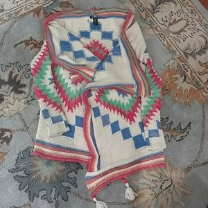 Ralph Lauren gorgeous multicolore  cardigan S/M